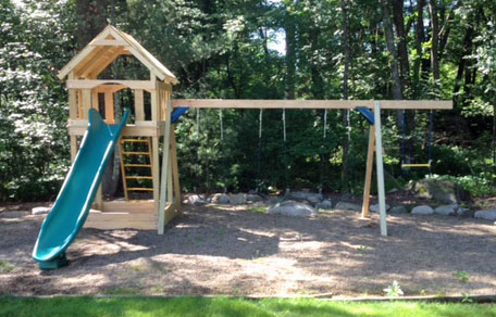 Playset and Swingset