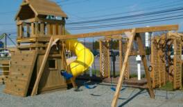 Children's Playset and Swingset